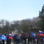 1 мая в Марьяновке состоялся митинг, посвященный празднику Весны и Труда