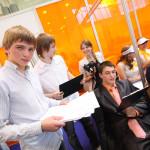 Марьяновцы достойно выступили на конкурсе бизнес-проектов