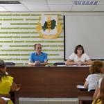 В Марьяновской ТИК состоялось заседание рабочей группы по обеспечению избирательных прав граждан