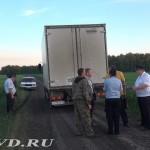 Полиция Марьяновского района нашла угнанный  КамАЗ с 600 мешками биологического сырья