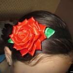 Цветочки и бантики на ободках