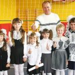 В Заринской школе  открылся новый спортивный зал