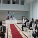 В районном ДК прошло первое заседание Совета Марьяновского муниципального района