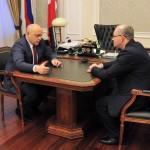 Губернатор Назаров призвал Марьяновку пользоваться близостью к городу