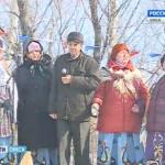 В Марьяновском районе проводы Масленицы прошли с большим размахом