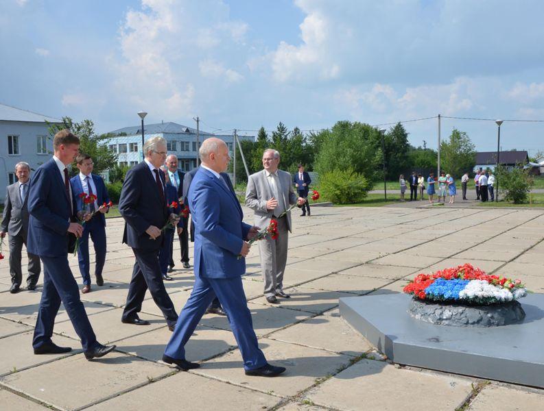 Губернатор Назаров в Марьяновке