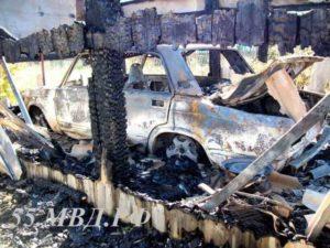 сгорел авто Отрадное марьяновский район