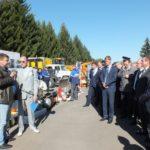 В Марьяновском районе прошла штабная тренировка