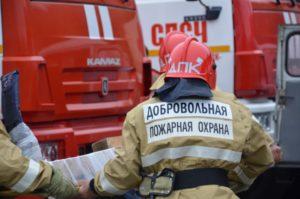 Добровольные пожарные и волонтеры Марьяновка