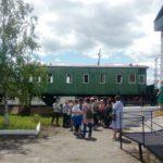Экскурсия для гостей в Марьяновке  