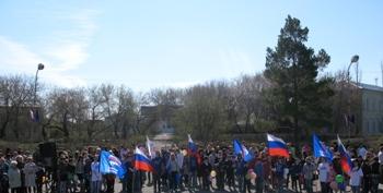 1 мая р.п.Марьяновка фото