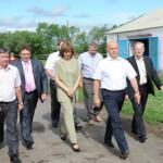 Губернатор Омской области Виктор Назаров с рабочим визитом посетил Марьяновский район.