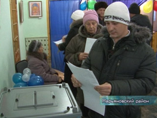 Выборы в Марьяновке