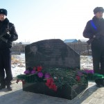 Открытие обелиска в память капитана милиции Юрия Соколенко
