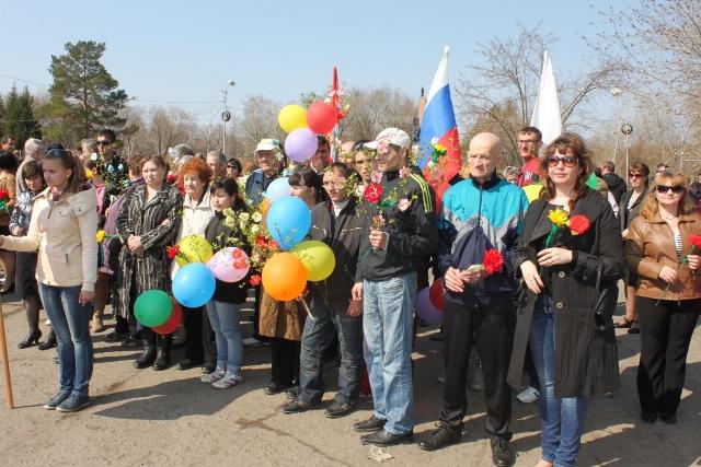 1 мая Марьяновка
