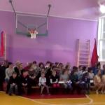 В Москаленском сельском поселении отремонтировали спортивный зал