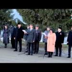Открытие доски почета в Марьяновке