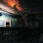 Мать и сын погибли при пожаре дома в Марьяновке