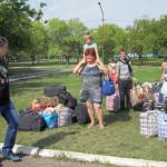 Марьяновка приняла 100 беженцев с юго-востока Украины