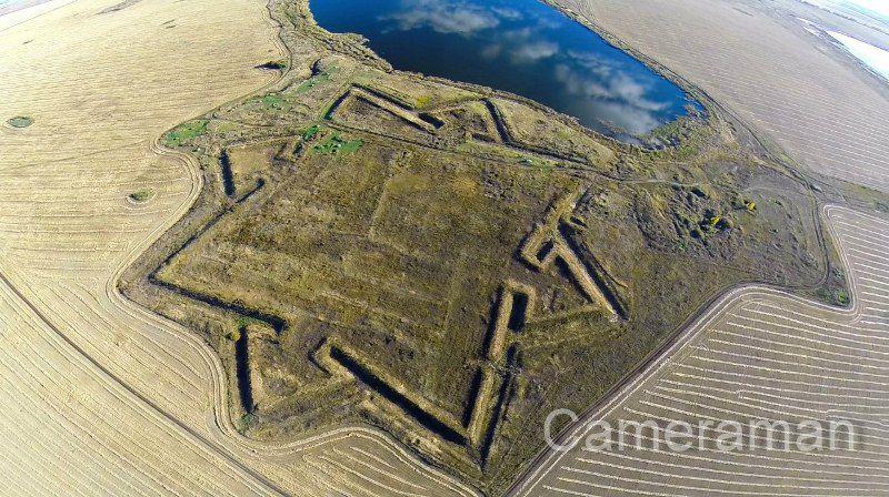 Фото Покровская крепость Марьяновский район