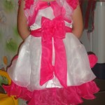 Детское платье на возраст 3-4 лет