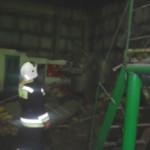 В Марьяновском районе обрушилась котельная
