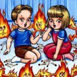 Неосторожное обращение детей с огнем!