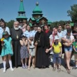 Омские полицейские посетили Свято-Серафимовский монастырь