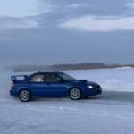 🚗 🌀 Гонки на льду в Марьяновке: ВИДЕО