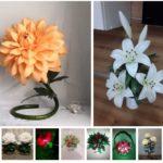 Ростовые цветы, светильники в Марьяновке 🎀🌺🌹