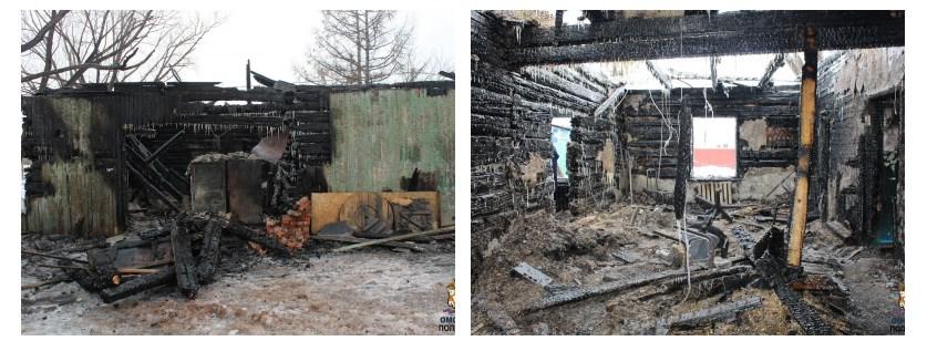В Марьяновке задержали подозреваемых в поджоге